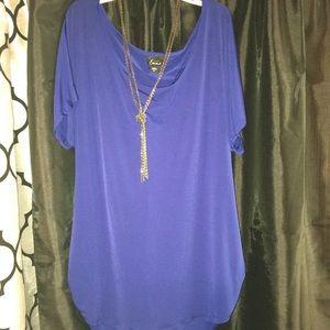 Tops - Blue shirt
